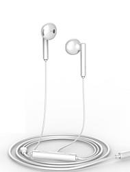 Χαμηλού Κόστους -Huawei AM115 Στο αυτί Ενσύρματη Ακουστικά Κεφαλής Ακουστικό Πλαστική ύλη Κινητό Τηλέφωνο Ακουστικά Με Μικρόφωνο / Με Έλεγχος έντασης ήχου Ακουστικά