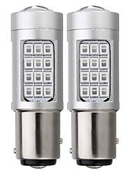 Недорогие -2 шт. 1157 из светодиодов автомобиля красный мигающий строб задние фонари стоп-сигнала лампы заднего хода лампы стоп-сигнала лампы