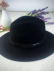 ราคาถูก -ขนสัตว์ หมวก กับ ขอบ 200 สวมใส่ทุกวัน หูฟัง