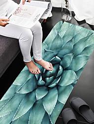 abordables -1pc Rustique Tapis Anti-Dérapants Corail Velve A Fleur Salle de Bain Antidérapant / Facile à nettoyer