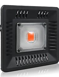 Недорогие -1 комплект 50 W 3000 lm 1 Светодиодные бусины Полного спектра Простая установка Для парниковых гидропоники Растущие светильники Фиолетовый 220-240 V 110-120 V Деловой