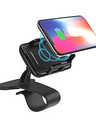 Недорогие -беспроводное автомобильное зарядное устройство подставка для мобильного телефона подставка для инструмента кронштейн для быстрой зарядки ноутбука 8 s8 iphone 8 x plus
