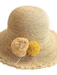 baratos -Mulheres Básico Chapéu de sol Sólido