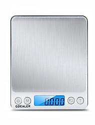 Недорогие -0.1 г-2000 г портативный мини электронные цифровые весы карманные кейс почтовые высокая точность кухня вес украшения