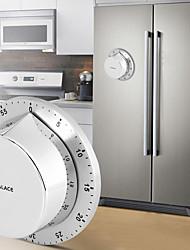 Недорогие -кухонный таймер из нержавеющей стали с магнитным основанием ручной механический таймер приготовления