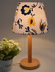 baratos -Artistíco / Contemporâneo Moderno Lâmpadas ambiente / Decorativa Luminária de Mesa / Luminária de Escrivaninha Para Quarto / Quarto de Estudo / Escritório Madeira / Bambu 110-120V / 220-240V Azul