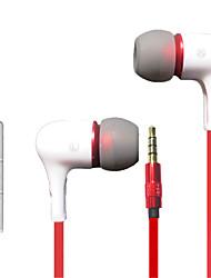billige -LITBest iBoB300 I øret Med ledning Hodetelefoner Hodetelefon Plast og Metall / silica Gel / ABS + PC Mobiltelefon øretelefon Sport og friluftsliv / Stereo / Med volumkontroll Headset