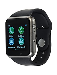 Недорогие -Kimlink A1S Смарт Часы Android Bluetooth Сенсорный экран Израсходовано калорий Хендс-фри звонки FM-радио