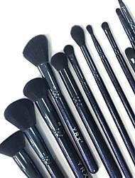 tanie -12 szt. Pędzle do makijażu Profesjonalny Akcesoria do makijażu Pędzel do makijażu Miękka / Syntetyczny Drewno / Bambus