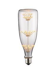 abordables -1pc 3 W 190-290 lm E26 / E27 Bombillas de Filamento LED 45 Cuentas LED