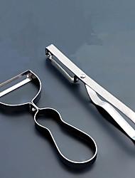 hesapli -Paslanmaz Çelik Çarpma ve Grater Yaratıcı Mutfak Gadget Mutfak Eşyaları Aletleri Mutfak Yenilik Araçları 2pcs