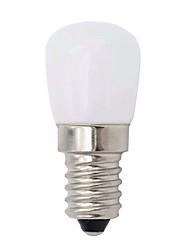 Недорогие -1шт 2 W Круглые LED лампы 200 lm E14 T 6 Светодиодные бусины SMD 2835 обожаемый Тёплый белый Белый 220 V
