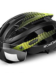 Недорогие -CoolChange Мотоциклетный шлем BMX Шлем 25 Вентиляционные клапаны PC (поликарбонат) прибыль на акцию Виды спорта Охота Велосипедный спорт / Велоспорт Походы - Зеленый Синий Серый Универсальные