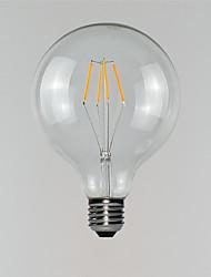 abordables -1pc 3 W 190-290 lm E26 / E27 Ampoules à Filament LED G125 4 Perles LED 220-240 V
