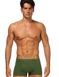 preiswerte -Herren Boxer Unterwäsche - niedrige Taille geteilt