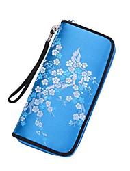 저렴한 -여성용 가방 우레탄 지갑 용 일상 퍼플 / 퓨샤 / 네이비 블루