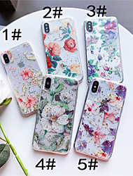 cheap -Case For Apple iPhone XR / iPhone XS Max Pattern Back Cover Flower Soft TPU for iPhone XS / iPhone XR / iPhone XS Max