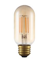 abordables -gmy t45 ampoule à filament tubulaire 3.5w 300lm led edison ampoule équivalent 28w avec e26 base 2200k blanc chaud pour chambre salon home café décoratif
