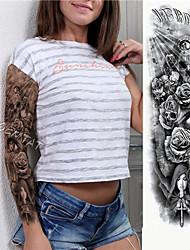 Недорогие -1 pcs Временные татуировки Экологичные / Одноразового использования Корпус / плечо / ножка Картон Временные тату