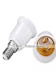 levne -2pcs E14 na E27 E14 Příslušenství žárovky ABS + PC Zásuvka na žárovky
