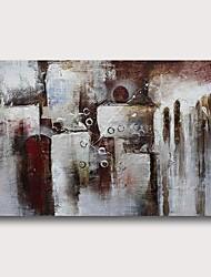povoljno -Hang oslikana uljanim bojama Ručno oslikana - Sažetak Comtemporary Moderna Uključi Unutarnji okvir