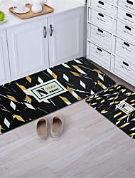 abordables -1pc Simple / Moderne Tapis de Bain Corail Velve Créatif / Géométrique / Nouveauté Salle de Bain Antidérapant