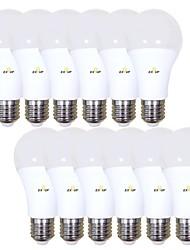 levne -EXUP® 12ks 15 W 1400 lm B22 E26 / E27 LED kulaté žárovky A70 42 LED korálky SMD 2835 220-240 V 110-130 V