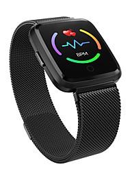 Недорогие -Y7 Мужчины Смарт Часы Android iOS Bluetooth Smart Спорт Водонепроницаемый Пульсомер Измерение кровяного давления / Сенсорный экран / Израсходовано калорий / Длительное время ожидания / Секундомер
