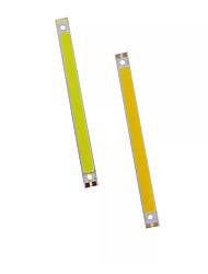 hesapli -1pc COB 12 V Parlak / Kendin-Yap Aluminyum LED Çip
