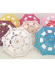Недорогие -Зонты Кружево Вышивка бисером в виде цветов Особые случаи