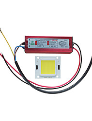 cheap -1pc Integrated LED 100-240 V Waterproof / DIY Aluminum / Silica Gel Power Supply for DIY LED Flood Light Spotlight 100 W