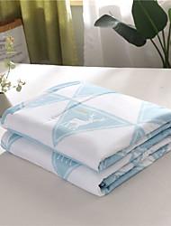baratos -Confortável - 1 Cobertura de Cama Primavera / Verão Poliéster Xadrez / Quadrados / Floral / Geométrica