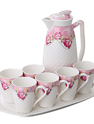 cheap -Drinkware Drinkware Set Porcelain Cartoon / Boyfriend Gift / Girlfriend Gift Casual / Daily
