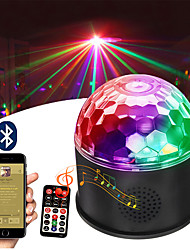 voordelige -1pc 6 W 6 LED-kralen Bluetooth Speaker Afstandsbediening LED-Floodlights RGB Podium
