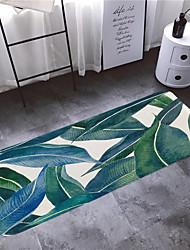 abordables -1pc Rustique Tapis Anti-Dérapants Corail Velve A Fleur 5mm Salle de Bain Antidérapant / Facile à nettoyer