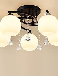 hesapli -JSGYlights 5-Işık Gömme Montajlı Işıklar Ortam Işığı Boyalı kaplamalar Metal Cam 110-120V / 220-240V