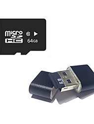 Недорогие -Ants 64 Гб Карточка TF Micro SD карты карта памяти Class10 64GB Micro SD Card TF Card