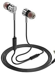 billige -LITBest I øret Med ledning Hodetelefoner Hodetelefon Aluminium Legering / silica Gel Mobiltelefon øretelefon Stereo / Med mikrofon Headset