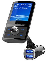 Недорогие -YuanYuanBenBen Bluetooth 4.2 Комплект громкой связи Автомобильная гарнитура Bluetooth / QC 3.0 / MP3 Автомобиль