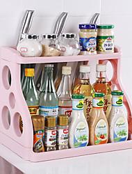 Недорогие -двухслойные стойки косметики настольные отделочные стойки кухонные принадлежности для хранения полка