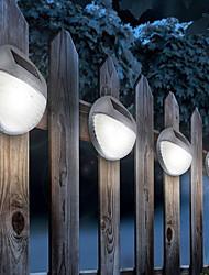 cheap -1pc 5 W Lawn Lights / Led Street Light / Solar Wall Light Solar / Decorative White 1.2 V Outdoor Lighting / Courtyard / Garden 2 LED Beads