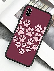 preiswerte -Hülle Für Apple iPhone X / iPhone XS Muster Ganzkörper-Gehäuse Tier Hart Acryl für iPhone XS / iPhone XR / iPhone XS Max