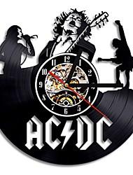 Недорогие -Acdc Rock Band настенные виниловые часы