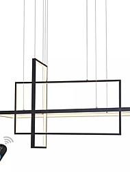 Недорогие -UMEI™ Линейные Люстры и лампы Рассеянное освещение Окрашенные отделки Алюминий Диммируемая 110-120Вольт / 220-240Вольт Белый / Диммируемый с дистанционным управлением / Wi-Fi Smart / FCC