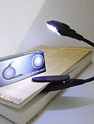 abordables -brelong portable mini led livre clip lumière tablette ordinateur liseuse 1 pc