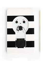 Недорогие -новинка мини-кошелек карманный размер кредитной карты портативный светодиодные ночные лампочки симпатичные бумажные карты фонарик забавный светильник