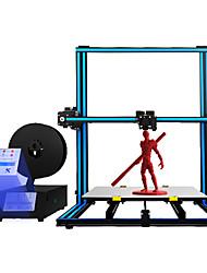 Недорогие -алюминиевый 3d-принтер tronxy® x3sa-400, размер печати 400 * 400 * 420 мм, 3,5