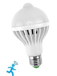 Недорогие -1шт 5 W Умная LED лампа 300-450 lm E26 / E27 10 Светодиодные бусины SMD 5730 Датчик Smart Инфракрасный датчик Белый 85-265 V / RoHs