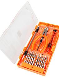 Недорогие -JAKEMY 40 в 1 Портативные Инструменты Наборы инструментов Домашний ремонт Ремонт Apple Samsung для ремонта компьютеров