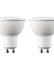 رخيصةأون -YouOKLight 2pcs 5 W 400 lm GU10 / MR16 LED ضوء سبوت 10 الخرز LED SMD 5730 ديكور أبيض دافئ / أبيض 220-240 V / 110-130 V